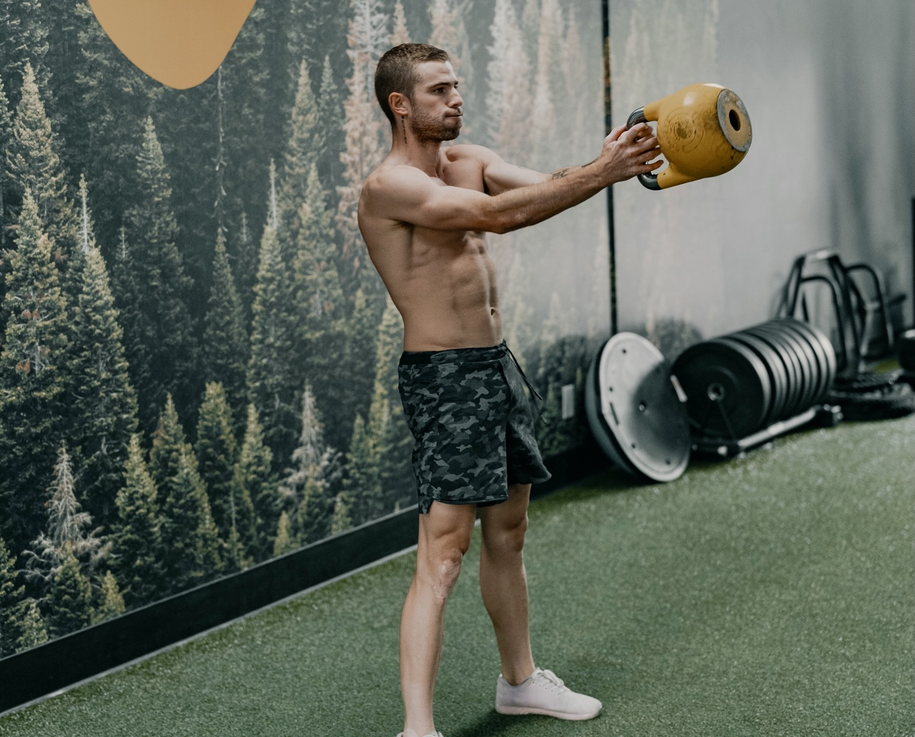 Kettlebell Workout: 4